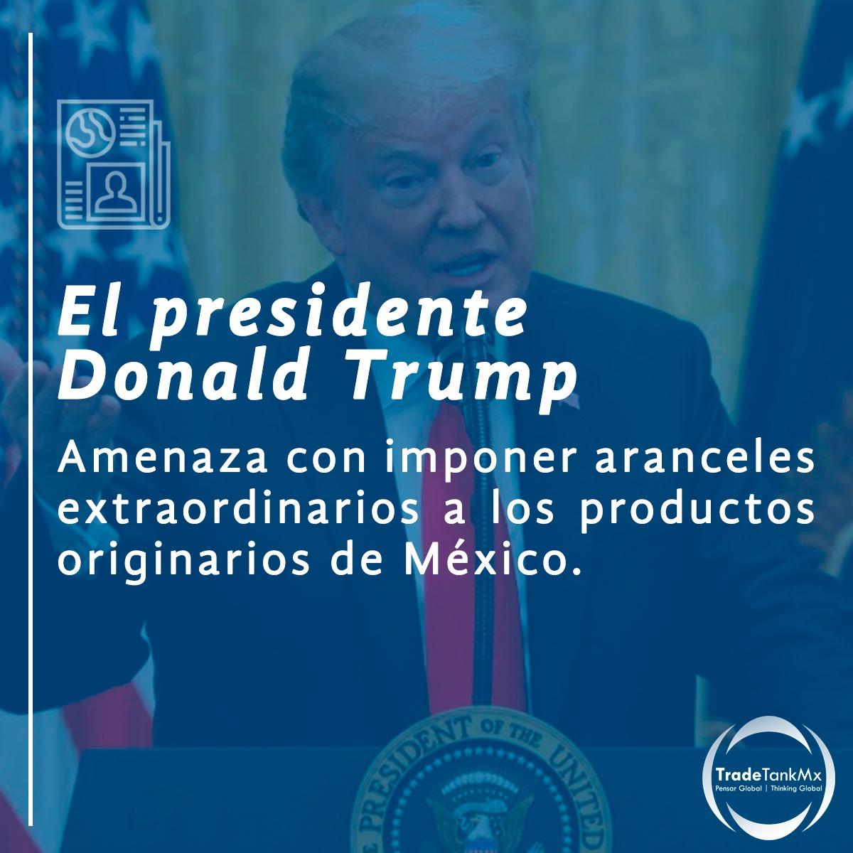 """México y Estados Unidos llegan a un acuerdo y queda suspendida """"indefinidamente"""" la amenaza de aranceles a las importaciones mexicanas"""
